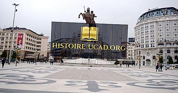 Největší města v Makedonii