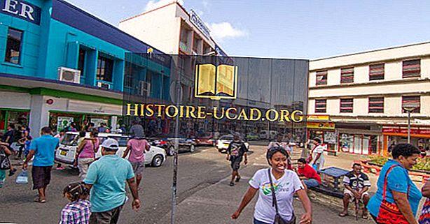 Les plus grandes villes et villes des Fidji