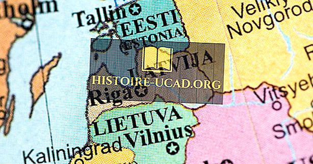 Où sont les pays baltes?