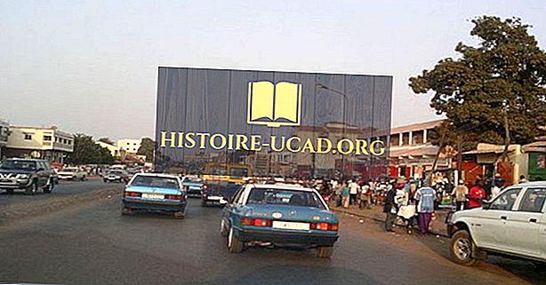 Lielākās pilsētas Gvinejā-Bisavā