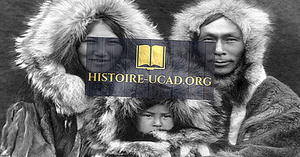 Ко су ескимски људи?  Где живе?