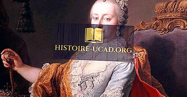 Císařovna Marie Terezie - světoví vůdci v historii