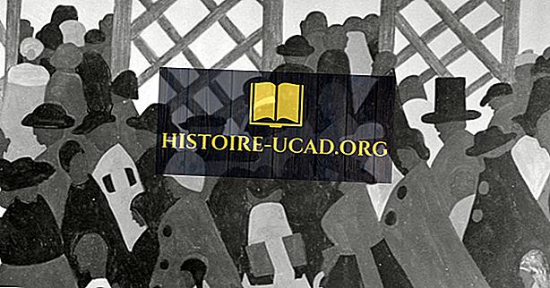 Kas įvyko Didžiosios Afrikos amerikiečių migracijos metu?