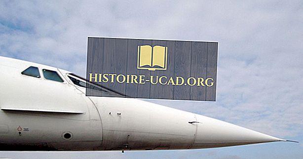 De geschiedenis van Concorde-vliegtuigen