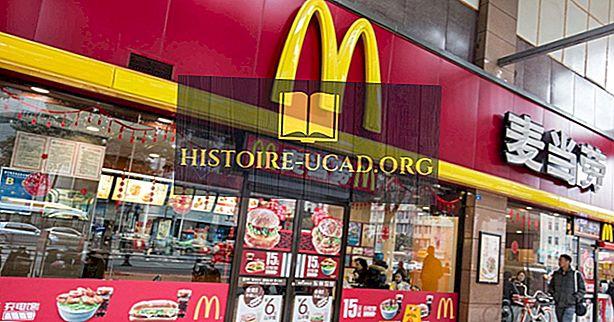 Države z večino McDonald's