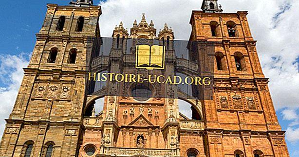 Příklady a charakteristiky gotické architektury