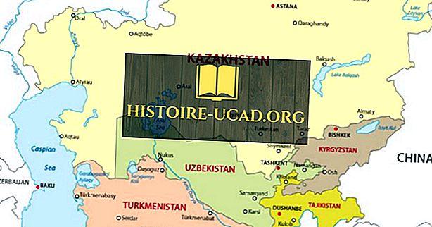 중앙 아시아 국가들