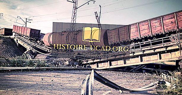 Les pires catastrophes ferroviaires de l'histoire américaine