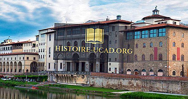 Historien om Uffizi-museet