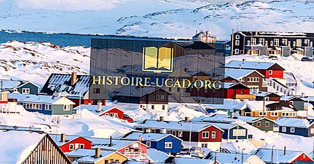 Največja mesta Grenlandije