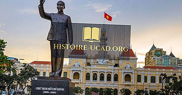 Ho Chi Minh - duomenys istorijoje