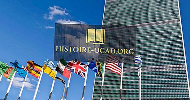 O que é o Geoscheme das Nações Unidas?