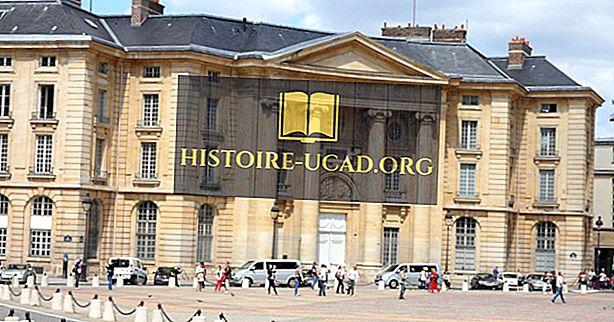Parīzes Universitāte - izglītības iestādes visā pasaulē