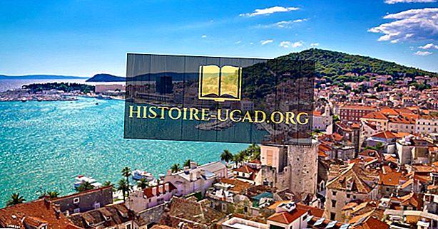 क्रोएशिया के ऐतिहासिक क्षेत्र क्या हैं?