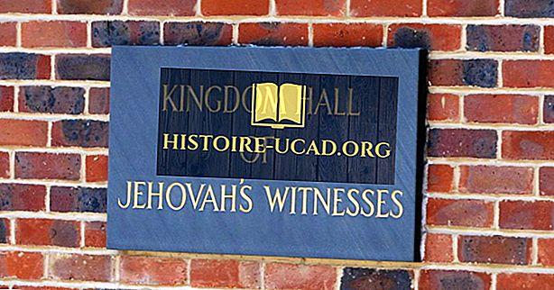 Države z največjimi populacijami Jehovinih prič