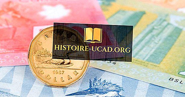 Historie kanadského dolaru