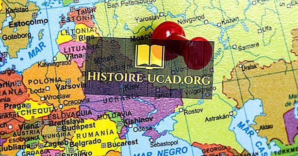 Welche Länder liegen in Osteuropa?