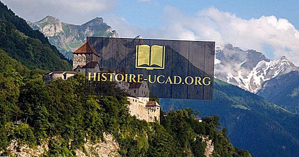 Mitä kieliä puhutaan Liechtensteinissa?