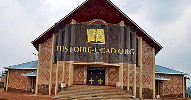 Afrikanske land hvor kristendommen er den største religionen