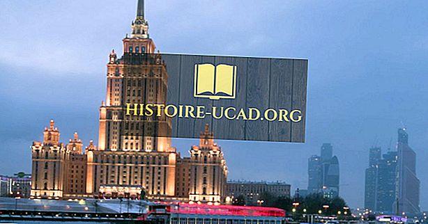 O que era a arquitetura stalinista?