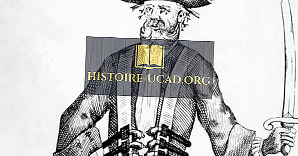 Blackbeard - slavné postavy v historii