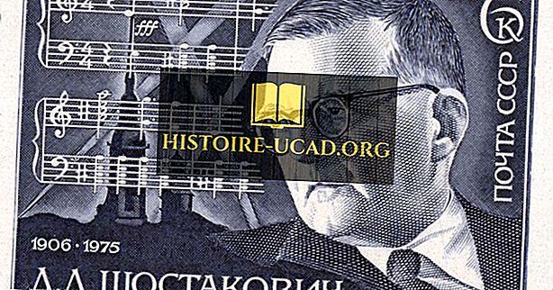 ديمتري شوستاكوفيتش - ملحنين مشهورين في التاريخ