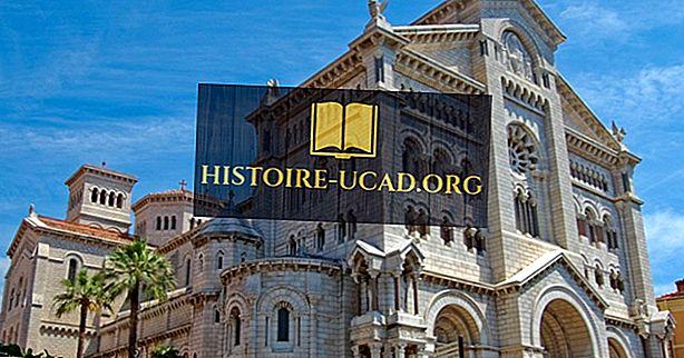 Den religiøse sammensetningen av Monaco