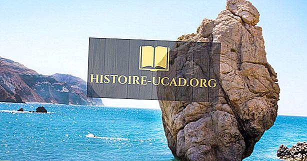 Kas un kur ir Afrodītes klints?
