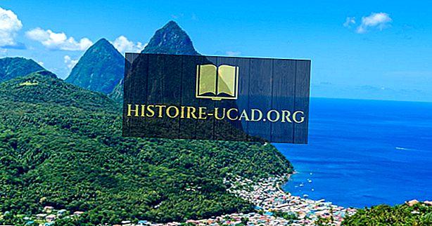 Чудеса Питона, объект всемирного наследия ЮНЕСКО в Сент-Люсии
