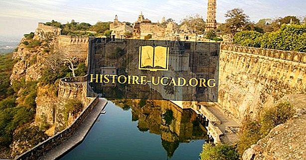 Chittorgarh pevnost, Indie - Destinace cestování