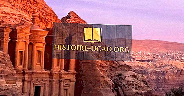 Petra, Jordanië - Reisbestemmingen