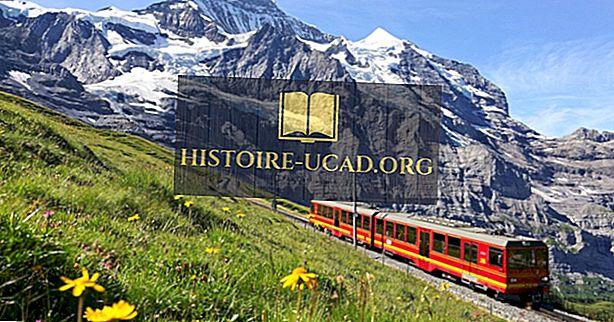 Šveitsi kõrgeimad mägede raudteed