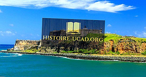 El Morro cietoksnis, Puertoriko - unikālas vietas ap pasauli