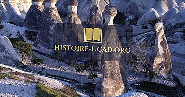 Rozprávkové komíny - Magické miesta Turecka