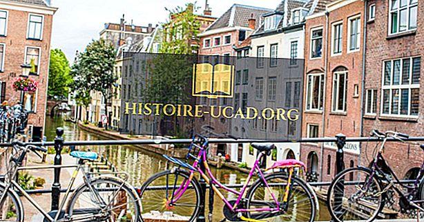 Većina biciklističkih gradova na svijetu