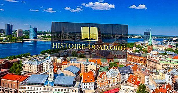 Riga - povijesni grad u Latviji