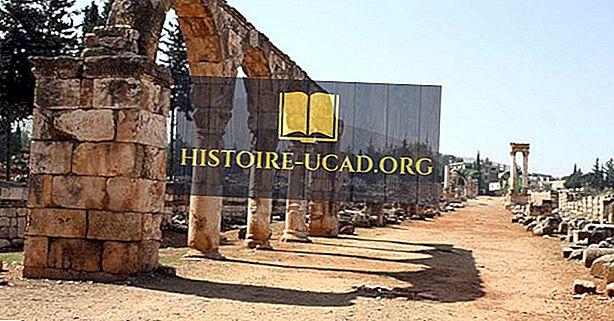 यूनेस्को विश्व विरासत स्थल लेबनान में
