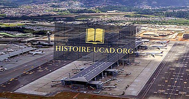 Los aeropuertos más concurridos de Brasil