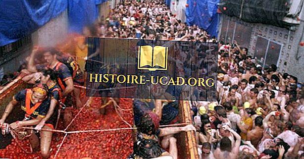 La Tomatina - edinstveni festivali v Španiji