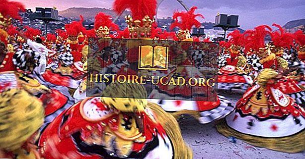 Brasiilia karneval - festivalid üle maailma