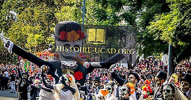 Deň mŕtvych - festivaly Mexika