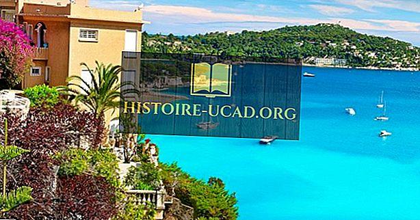 Côte d'Azur - überzeugende Orte in Frankreich