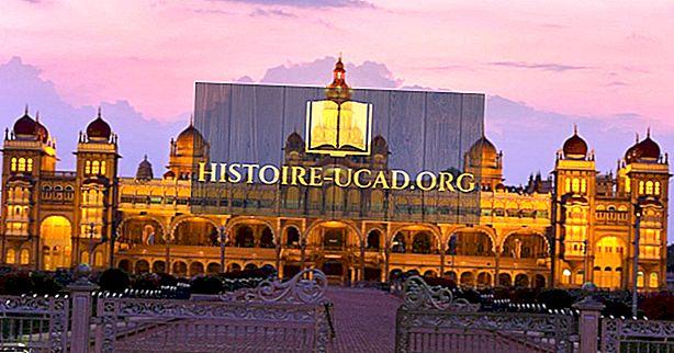 Historický Mysore palác Karnataka, Indie