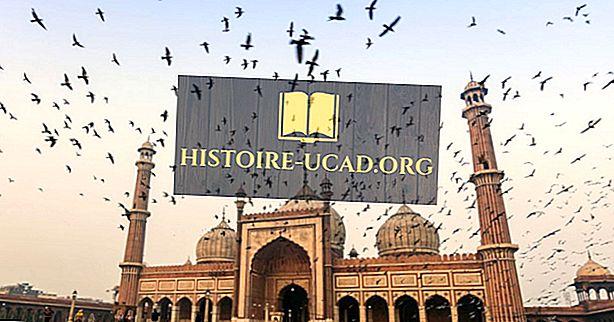 Primjeri Mughal arhitekture