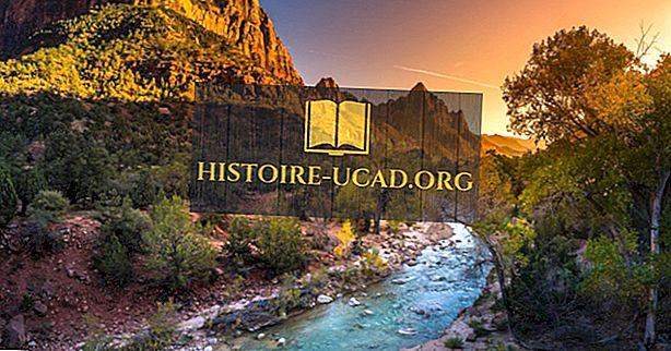 perjalanan - Taman Nasional Zion, Utah - Tempat Unik di Seluruh Dunia
