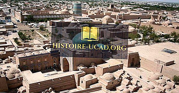 UNESCO: s världsarvslista i Usbekistan
