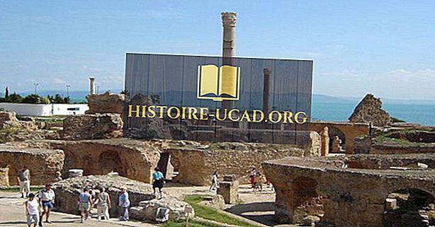 Μνημεία παγκόσμιας πολιτιστικής κληρονομιάς της UNESCO στην Τυνησία