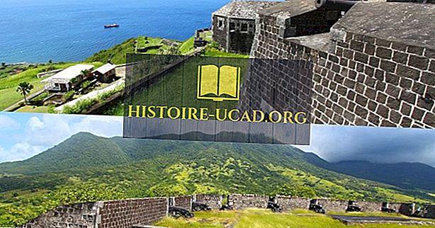 Brimstone Hill tvirtovės nacionalinis parkas, Sent Kitsas ir Nevis