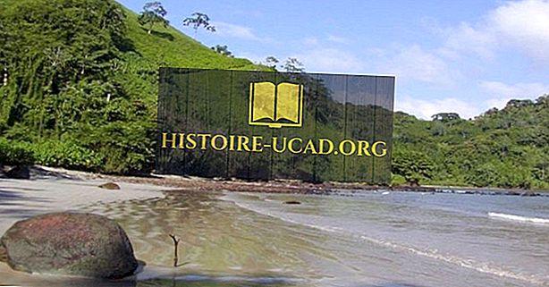 UNESCO Pasaules mantojuma vietas Kostarikā