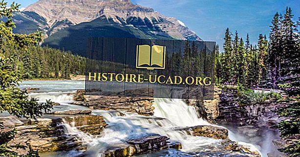 cestovanie - Athabasca Falls, Kanada - Unikátne miesta po celom svete